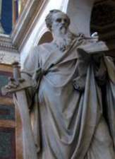 Statue of the Apostle Paul