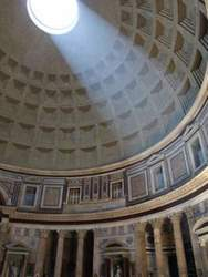 Inside the 'Pantheon', Rome