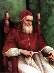 Raphael: 'Portrait of Pope Julius II', 1511