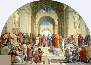 Rafael: 'Escola de Atenas', 1510